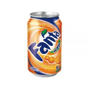 Refresco fanta naranja lata...